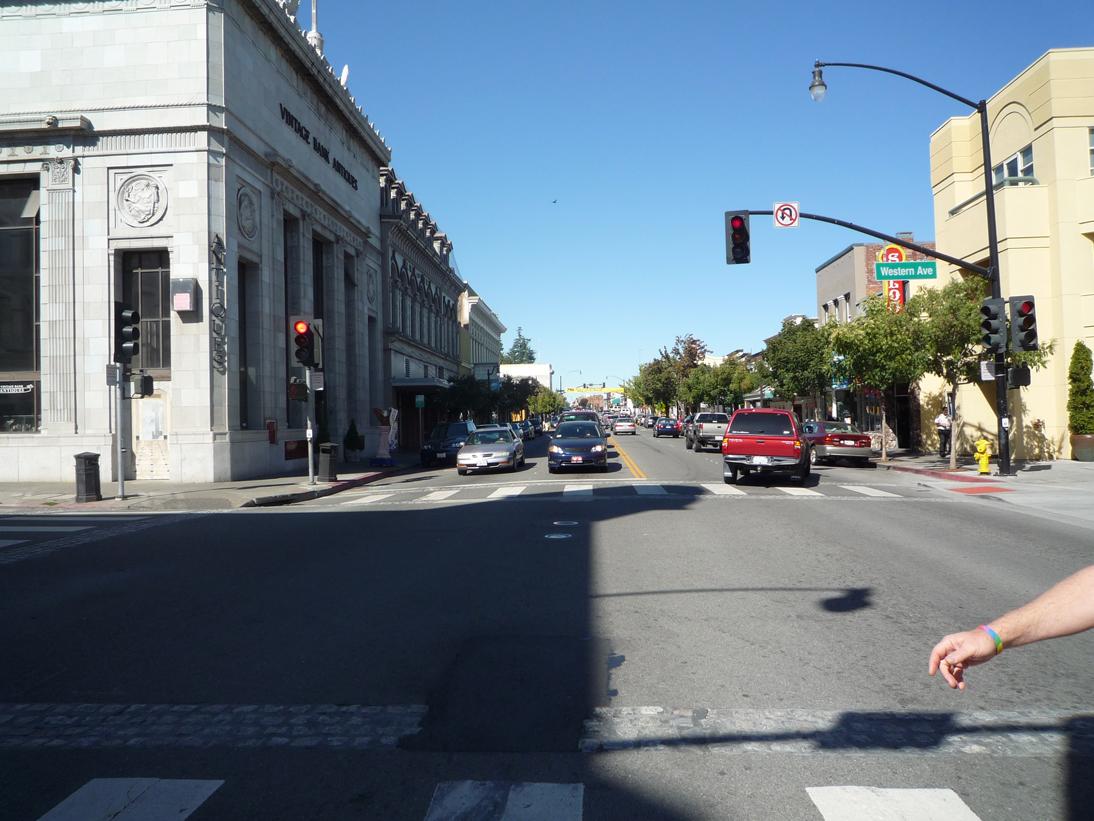American Graffiti (1973) - Most Cruising Scenes/ Downtown Petaluma