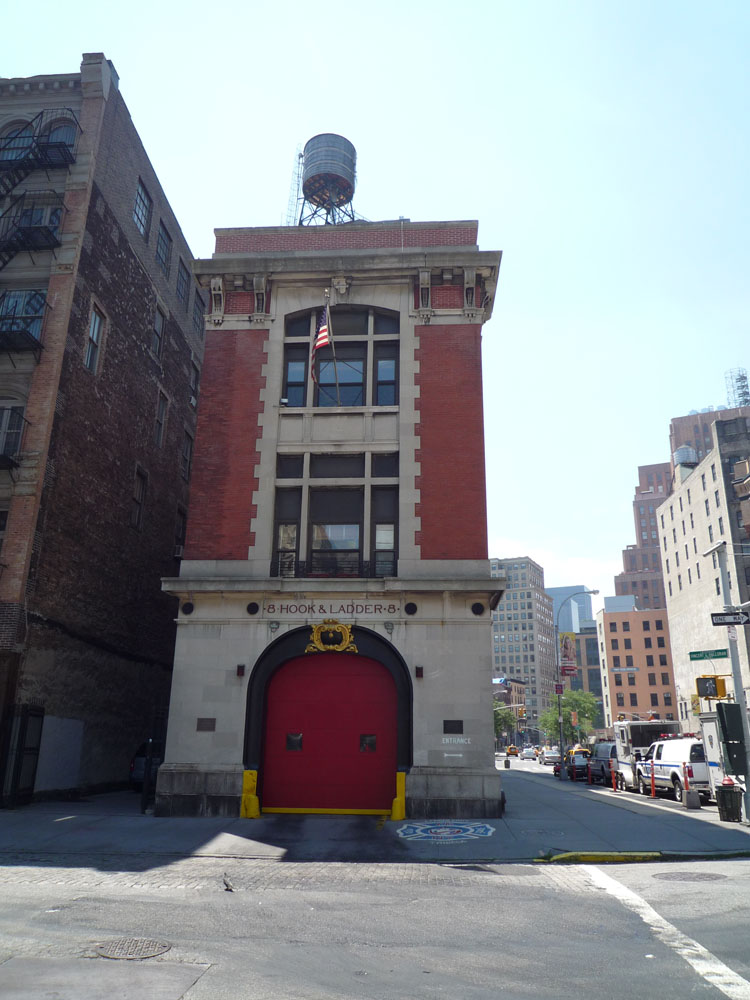 Ghostbusters (1984) - Fire Station/Ghostbusters HQ
